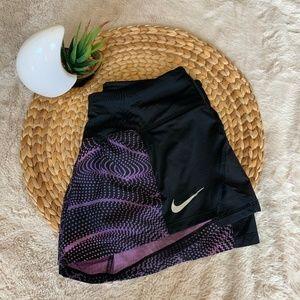 Nike Women's Dri-Fit Peak Crew Running Shorts XS